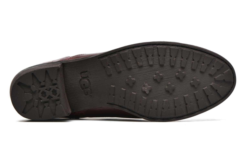 Boots en enkellaarsjes UGG W Keller Croco Rood boven