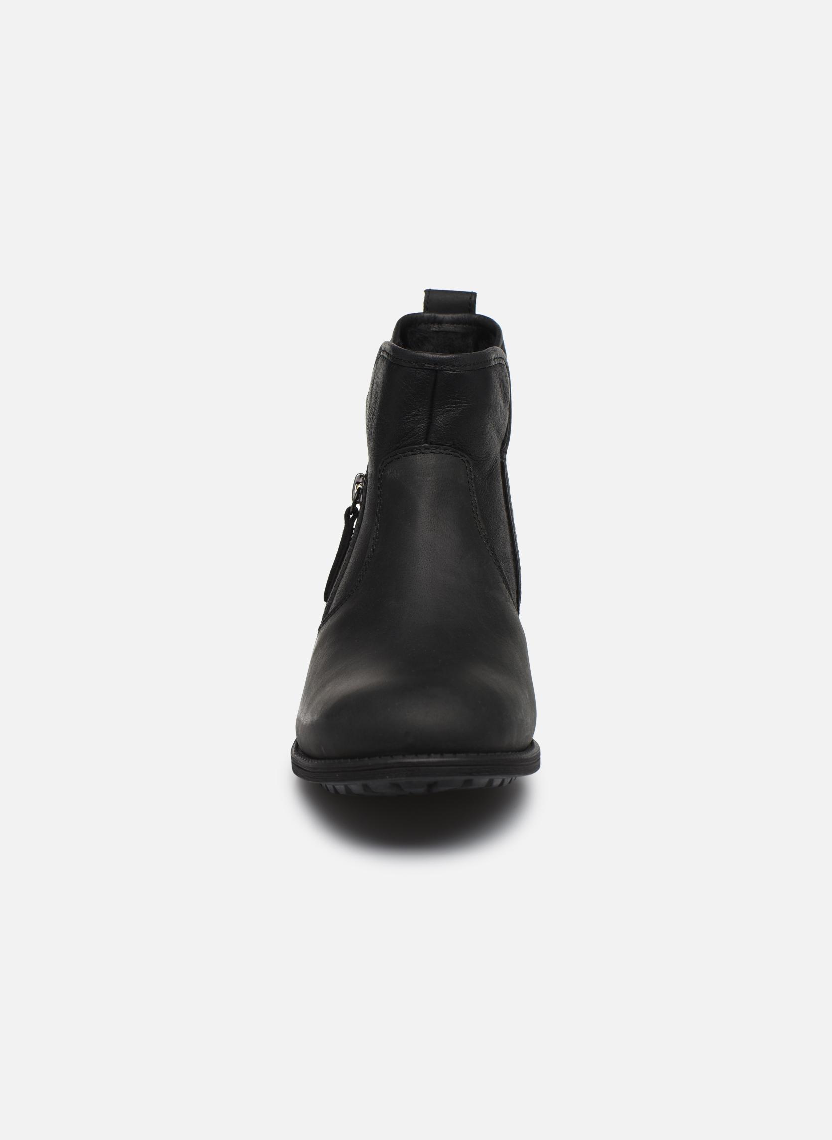 Bottines et boots UGG W Lavelle Noir vue portées chaussures
