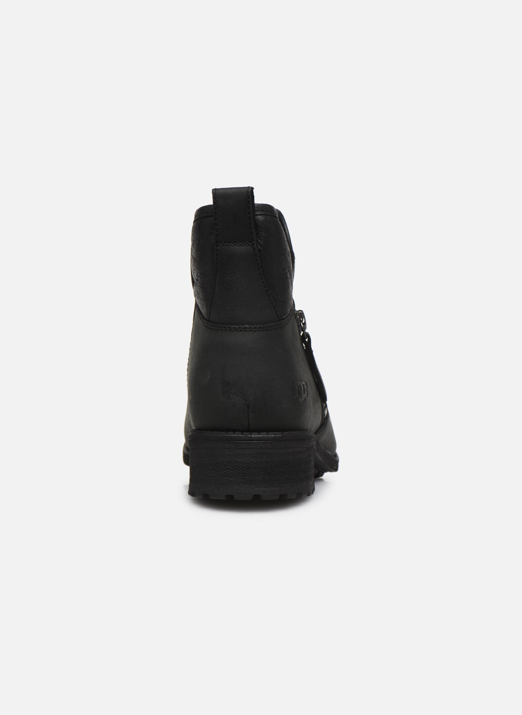Bottines et boots UGG W Lavelle Noir vue droite