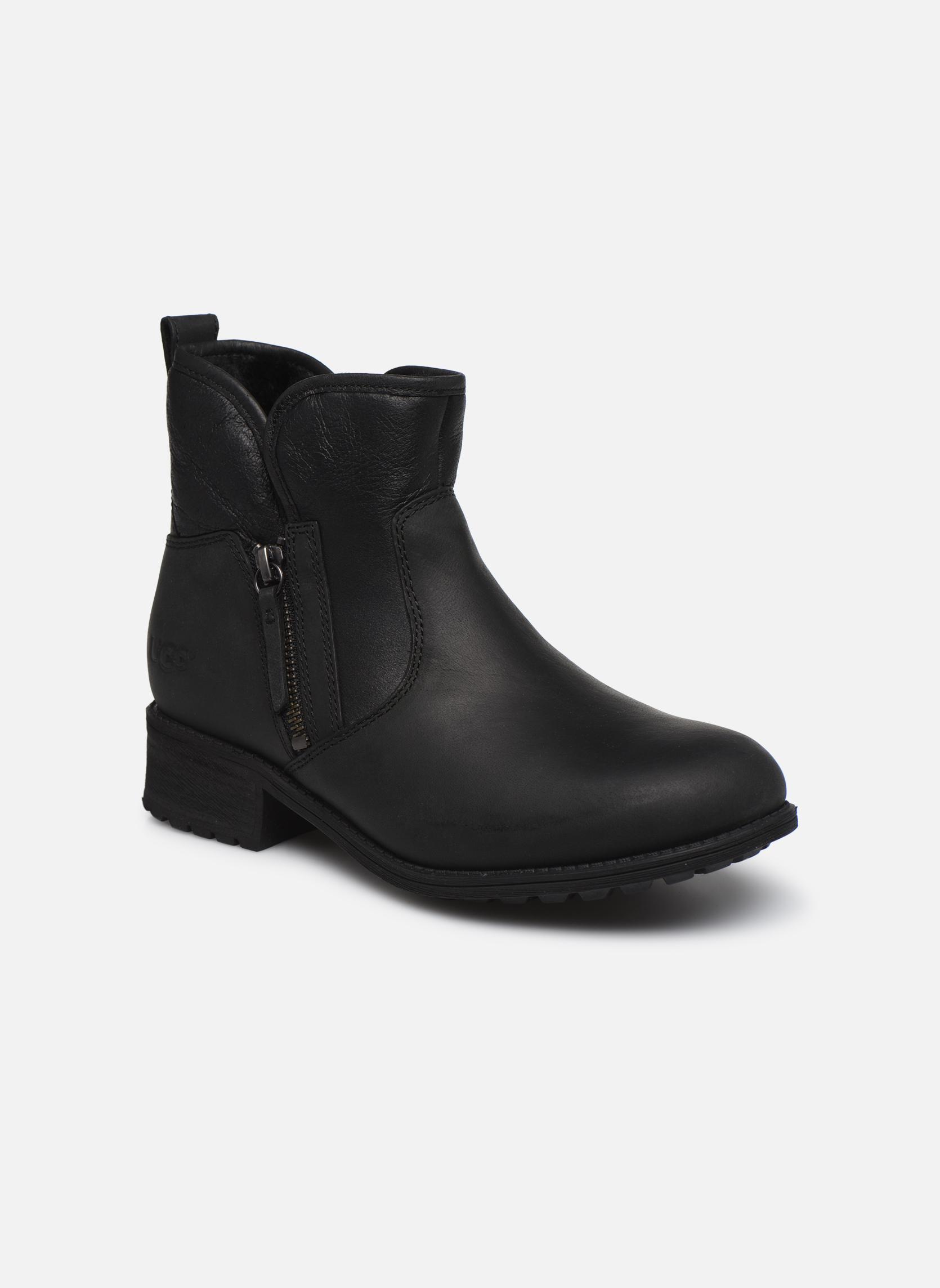 Bottines et boots UGG W Lavelle Noir vue détail/paire