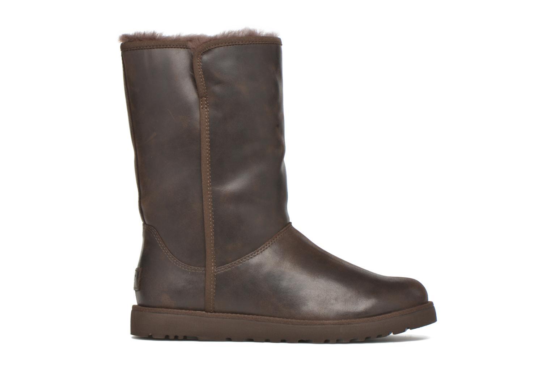 Bottines et boots UGG W Michelle Leather Marron vue derrière