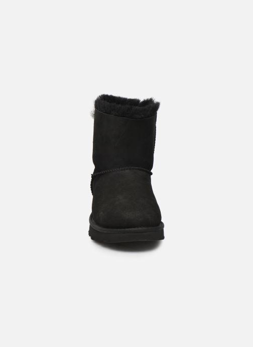 Bottines et boots UGG W Mini Bailey Bow II Noir vue portées chaussures