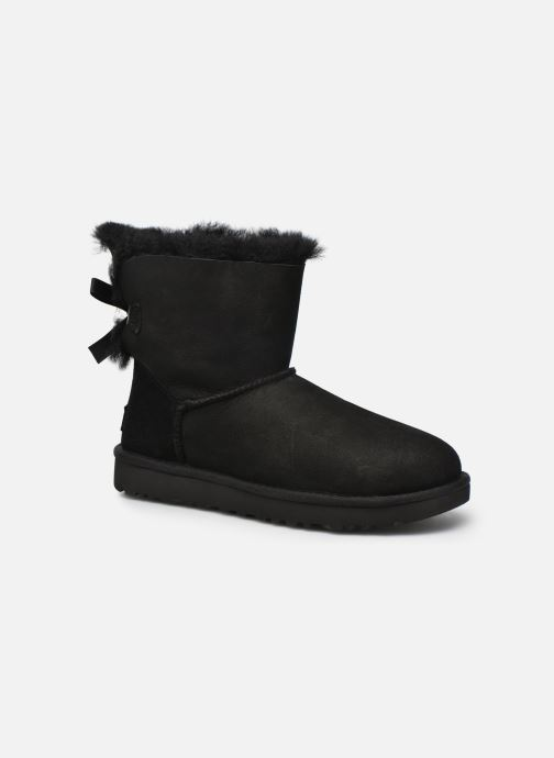 Stiefeletten & Boots UGG W Mini Bailey Bow II schwarz detaillierte ansicht/modell