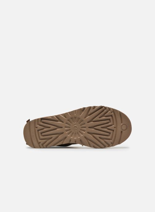 Stiefeletten & Boots UGG W Mini Bailey Bow II braun ansicht von oben