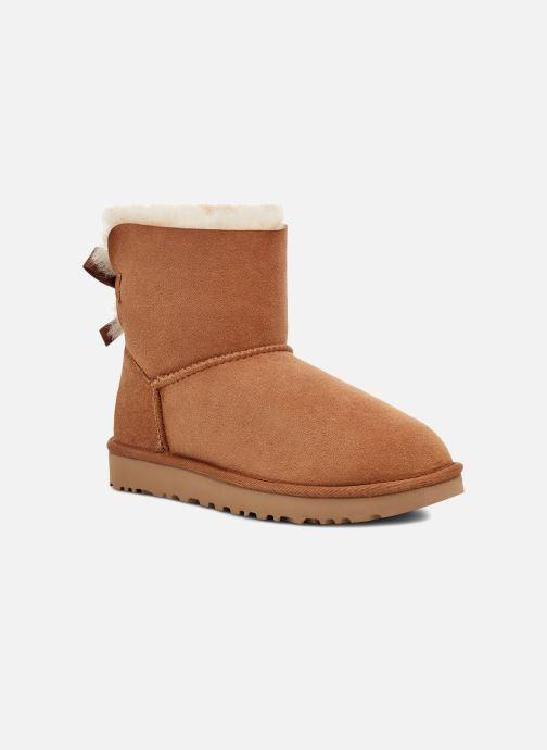 Boots en enkellaarsjes UGG W Mini Bailey Bow II Bruin detail