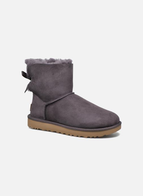 8de9ddf43a4 UGG W Mini Bailey Bow II (Purple) - Ankle boots chez Sarenza (269980)