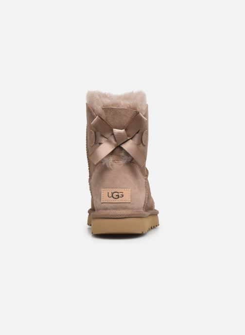 Bottines et boots UGG W Mini Bailey Bow II Beige vue droite