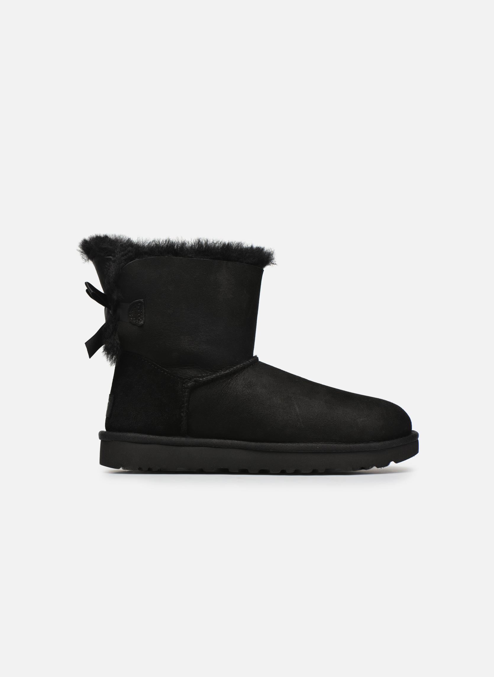 Stiefeletten & Boots UGG W Mini Bailey Bow II schwarz ansicht von hinten