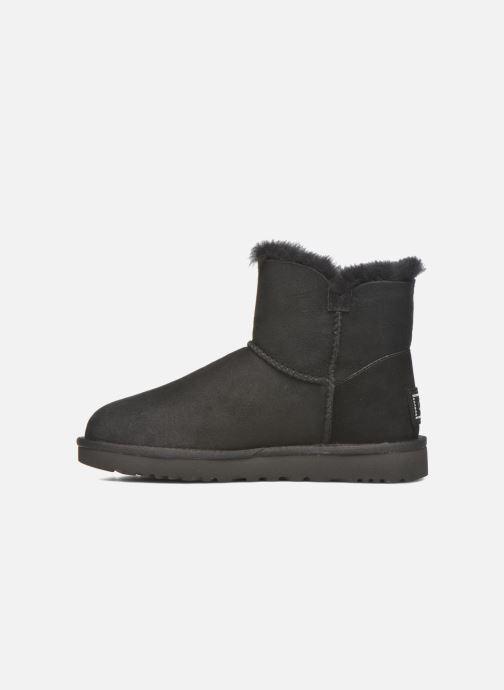 Bottines et boots UGG W Mini Bailey Button Bling Noir vue face