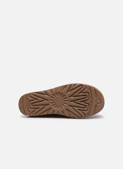 Stivaletti e tronchetti UGG W Mini Bailey Button Bling Marrone immagine dall'alto