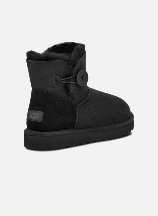Botines  UGG W Mini Bailey Button II Negro vista del modelo