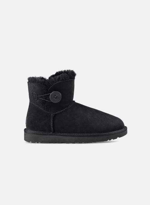 Botines  UGG W Mini Bailey Button II Negro vista lateral derecha