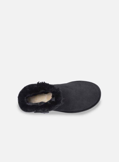 Boots en enkellaarsjes UGG W Mini Bailey Button II Zwart achterkant