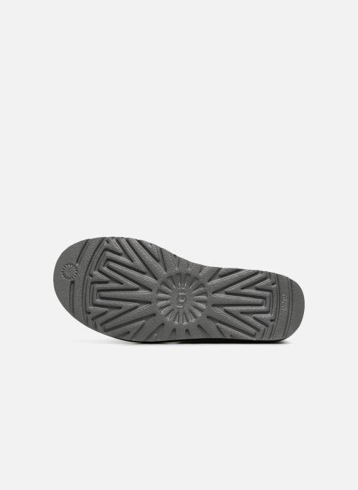 Stiefeletten & Boots UGG W Mini Bailey Button II grau ansicht von oben
