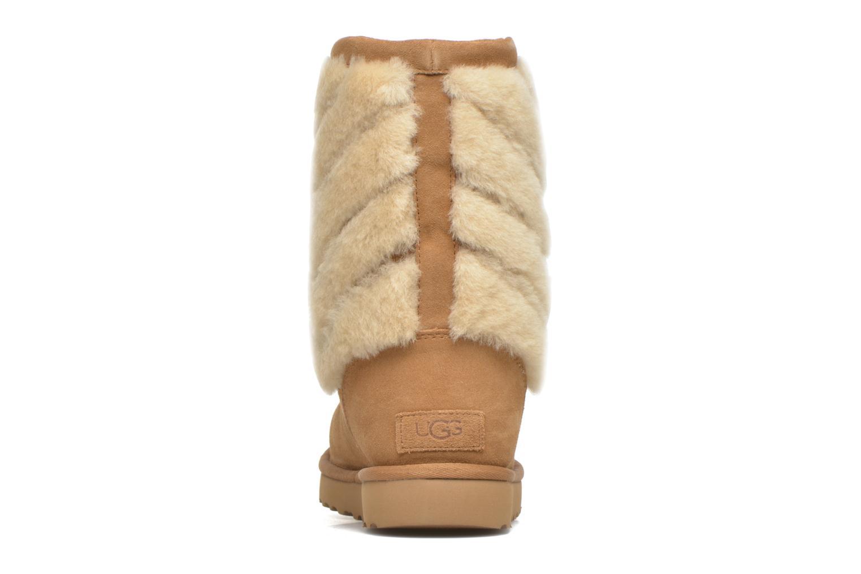 Bottines et boots UGG W Tania Marron vue droite