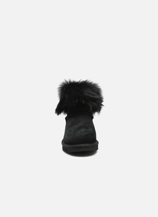 Bottines et boots UGG W Valentina Noir vue portées chaussures
