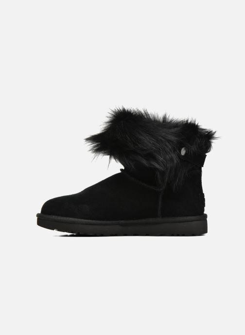 Bottines et boots UGG W Valentina Noir vue face