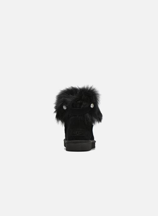 Bottines et boots UGG W Valentina Noir vue droite