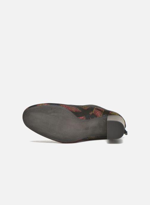 Bottines et boots What For Zille Noir vue haut