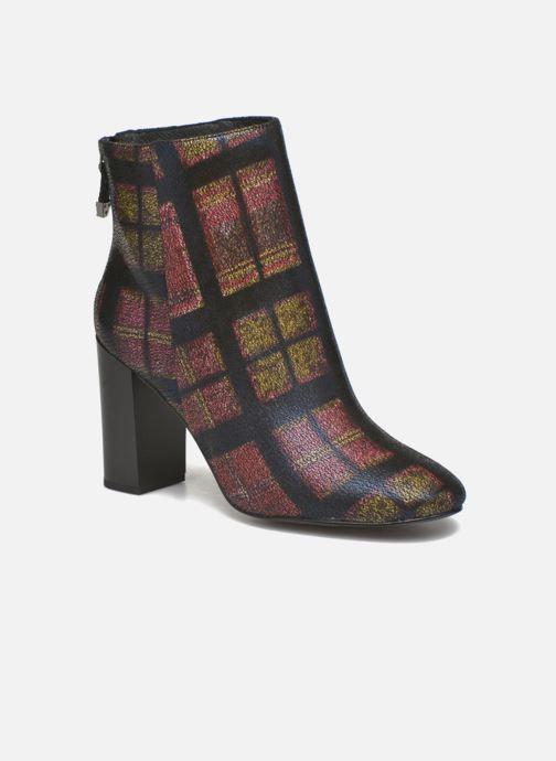 Boots en enkellaarsjes What For Zille Zwart detail