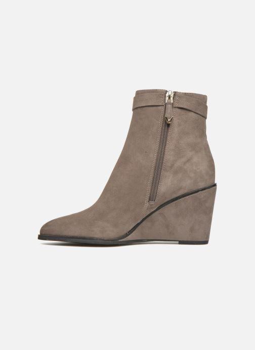 Bottines et boots What For Griz Marron vue face