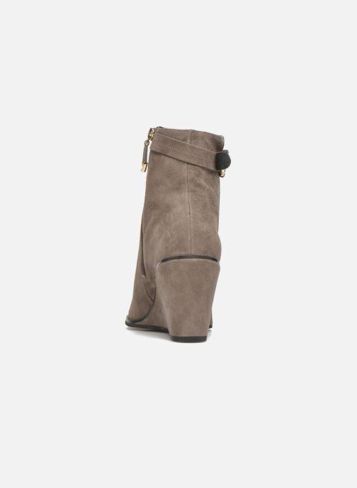 Bottines et boots What For Griz Marron vue droite