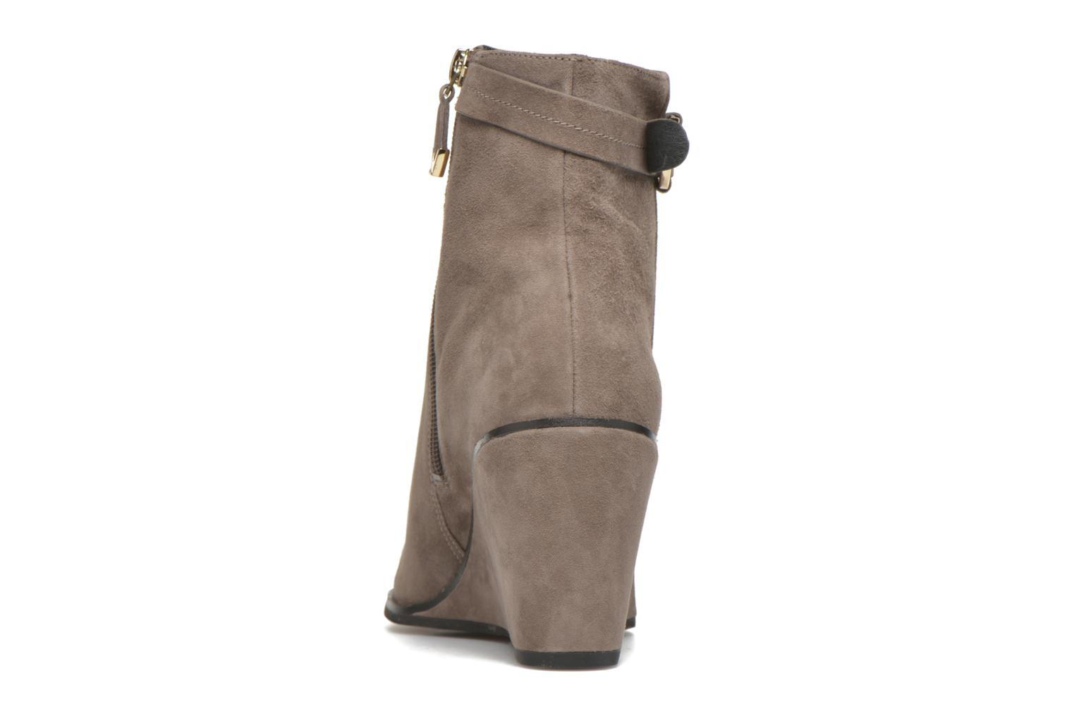 Ankle boots What For Griz Brown view from the right