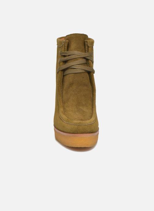 Bottines et boots What For Bald Vert vue portées chaussures