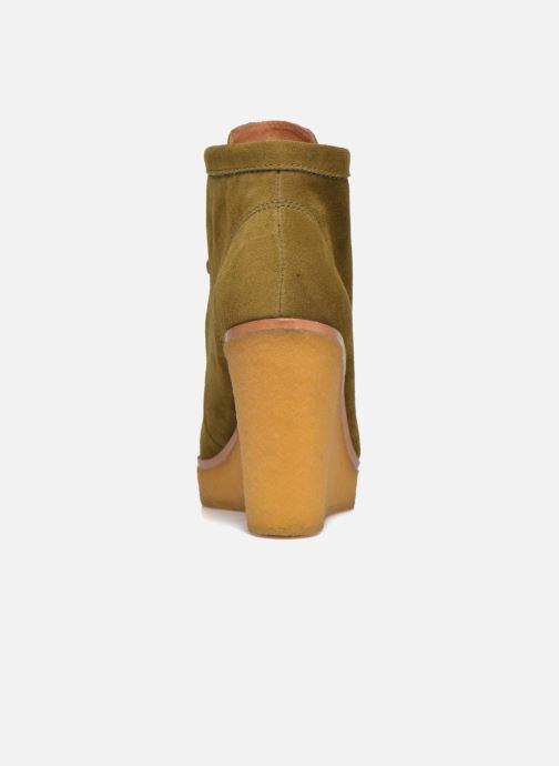Bottines et boots What For Bald Vert vue droite