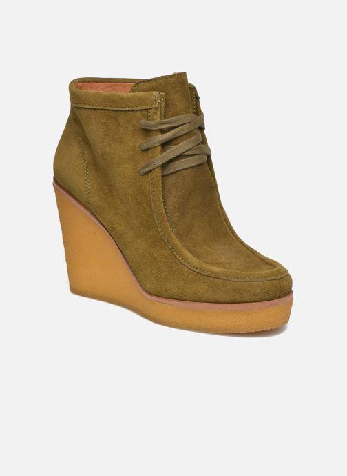 Bottines et boots What For Bald Vert vue détail/paire
