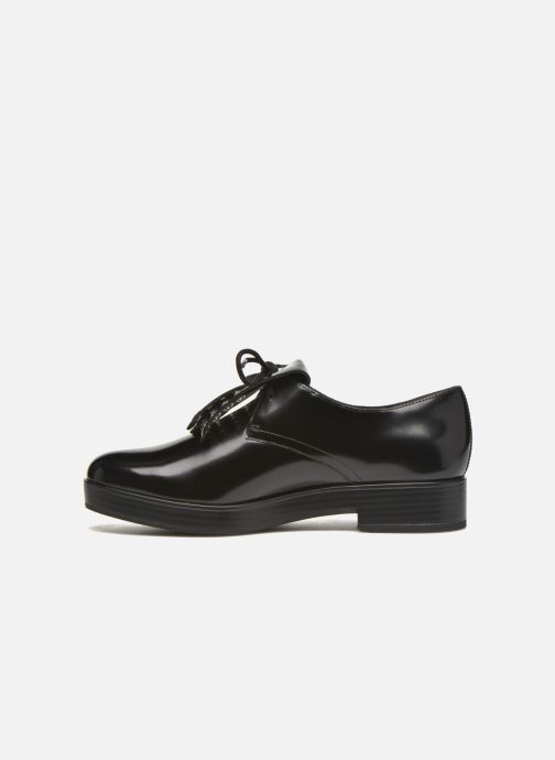 Lace-up shoes What For Dinhel Black front view