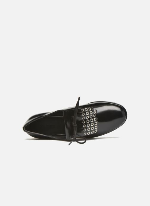 Lace-up shoes What For Dinhel Black view from the left