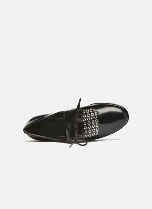 Zapatos con cordones What For Dinhel Negro vista lateral izquierda