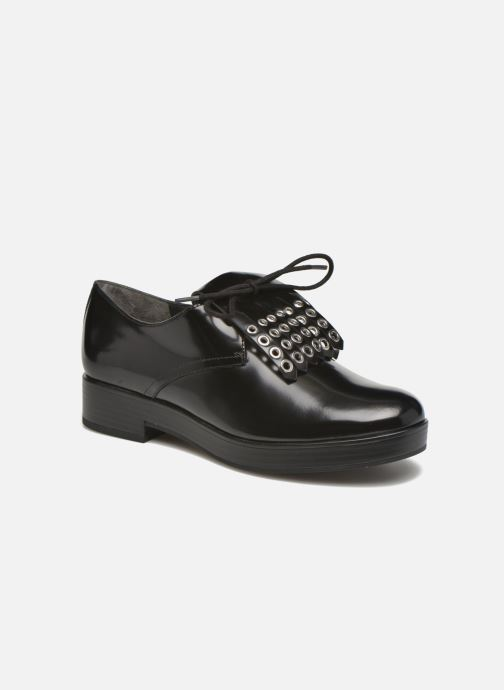 Lace-up shoes What For Dinhel Black detailed view/ Pair view