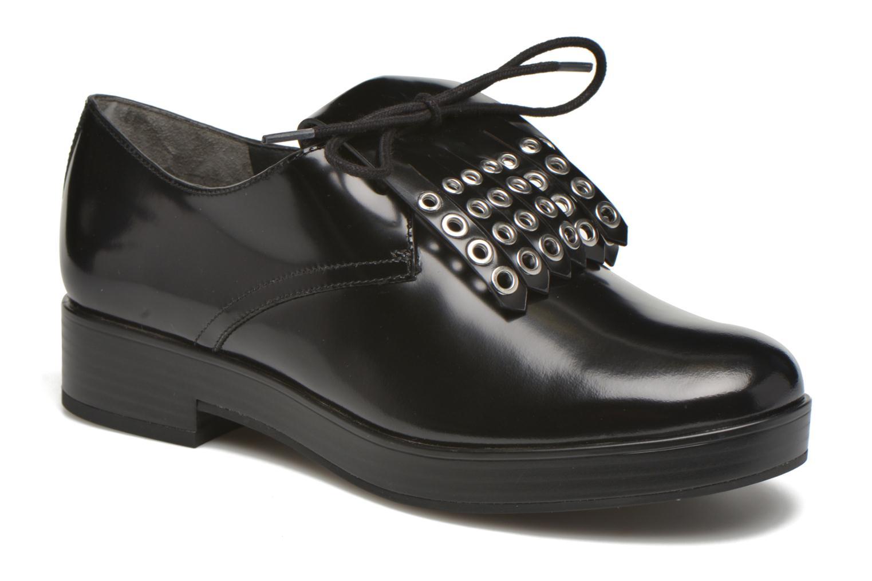 Chaussures à lacets What For Dinhel Noir vue détail/paire