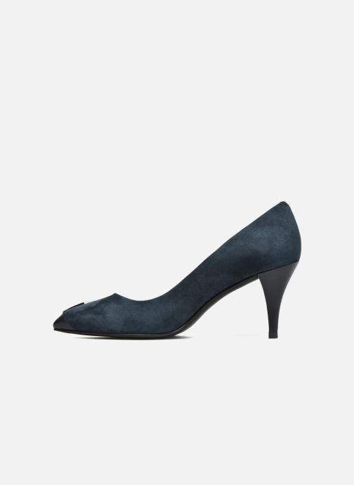 Zapatos de tacón What For Iaada Azul vista de frente