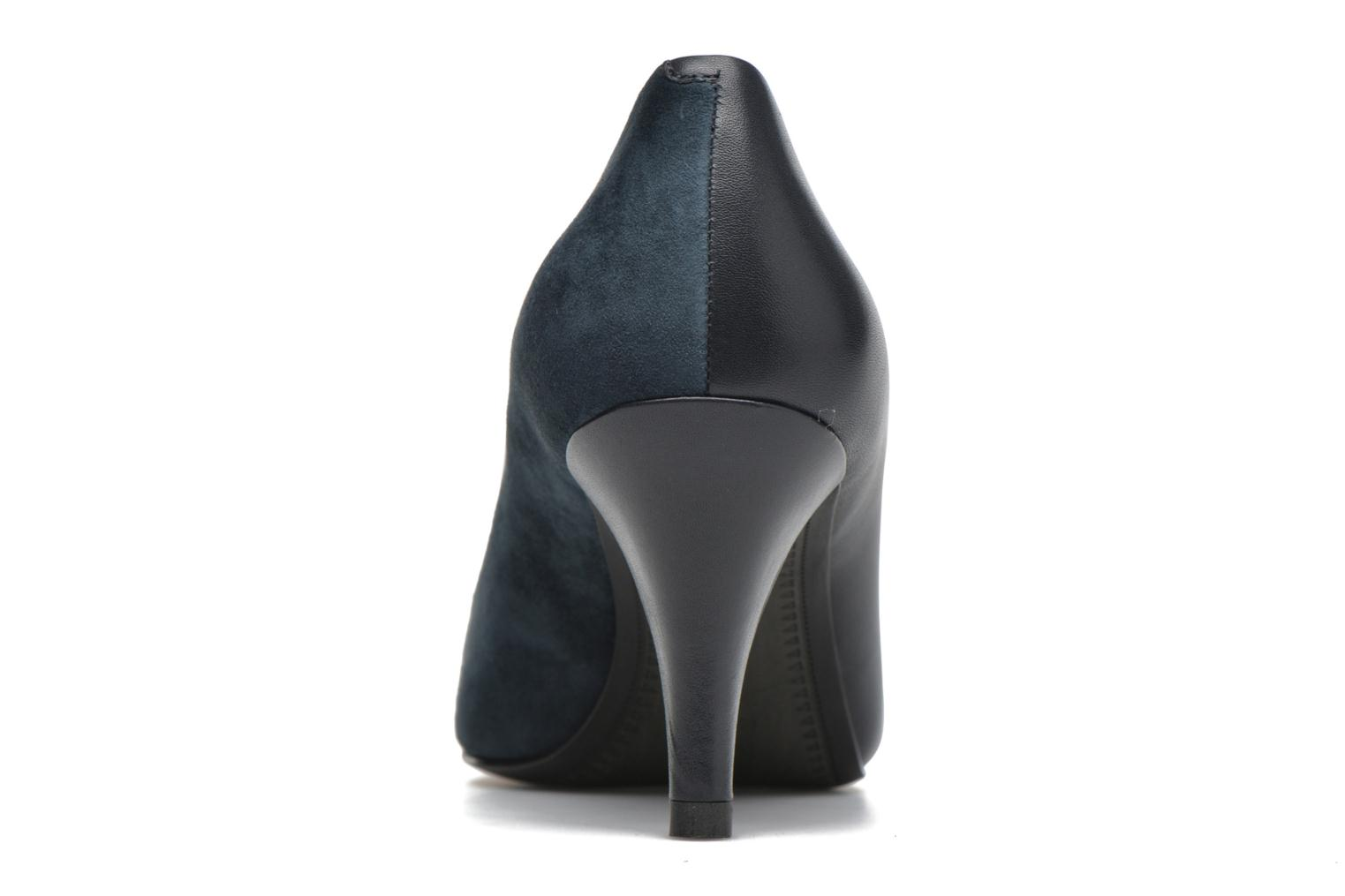 High heels What For Iaada Blue view from the right