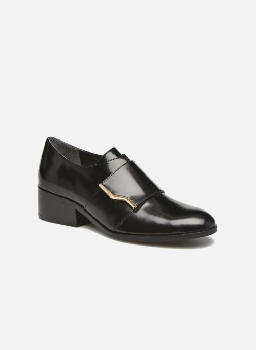 Loafers What For Mindé Sort detaljeret billede af skoene