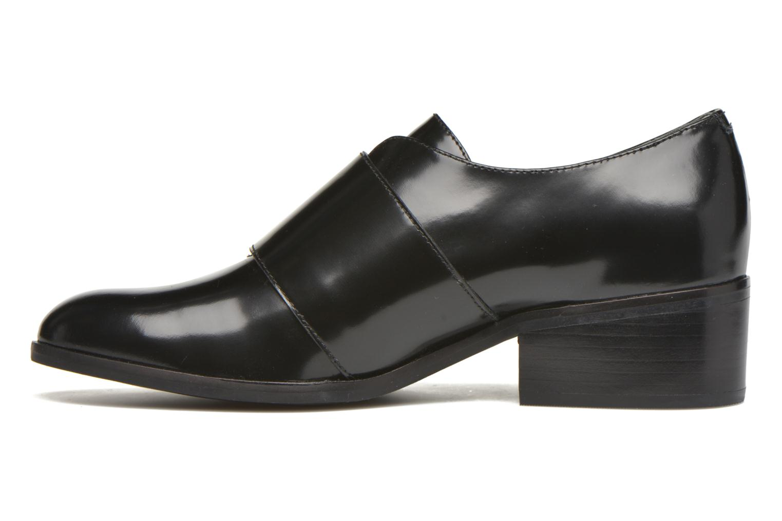 Loafers What For Mindé Black front view