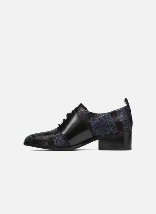 Chaussures à lacets What For Goxoy Bleu vue face