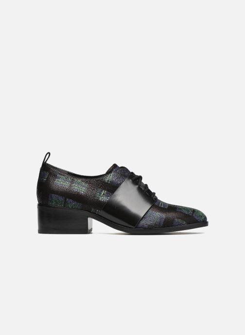 Zapatos con cordones What For Goxoy Azul vistra trasera