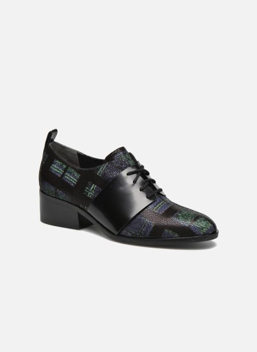 Lace-up shoes What For Goxoy Blue detailed view/ Pair view