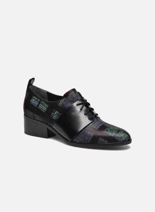 Chaussures à lacets What For Goxoy Bleu vue détail/paire