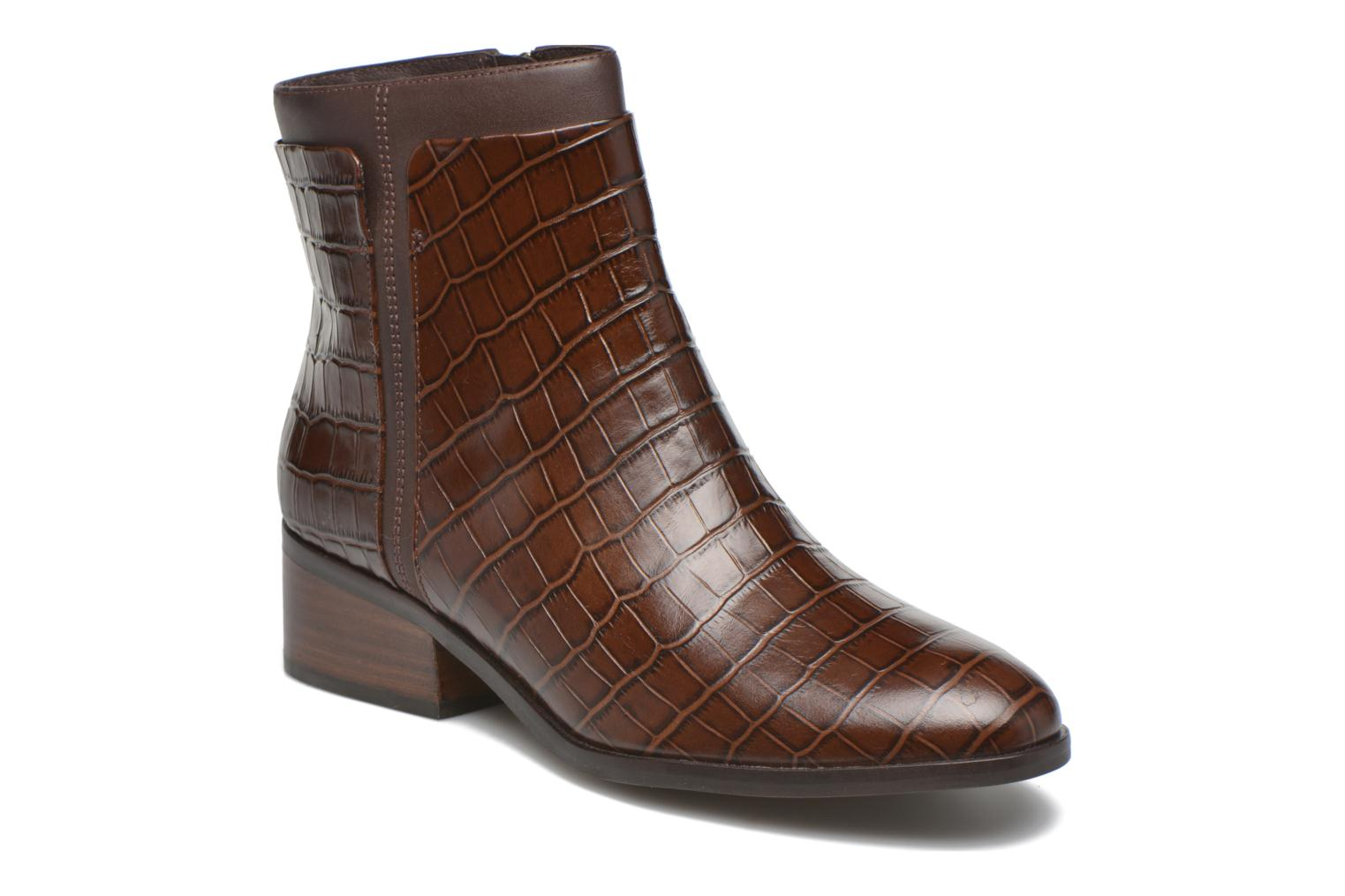 Ankle boots What For Panhu Brown detailed view/ Pair view