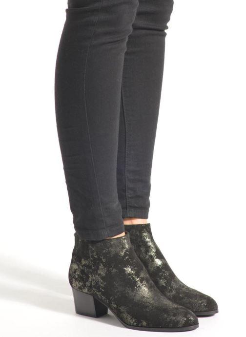 Bottines et boots What For Hecol Noir vue bas / vue portée sac
