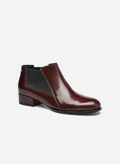 Ankle boots What For Sriso Burgundy detailed view/ Pair view