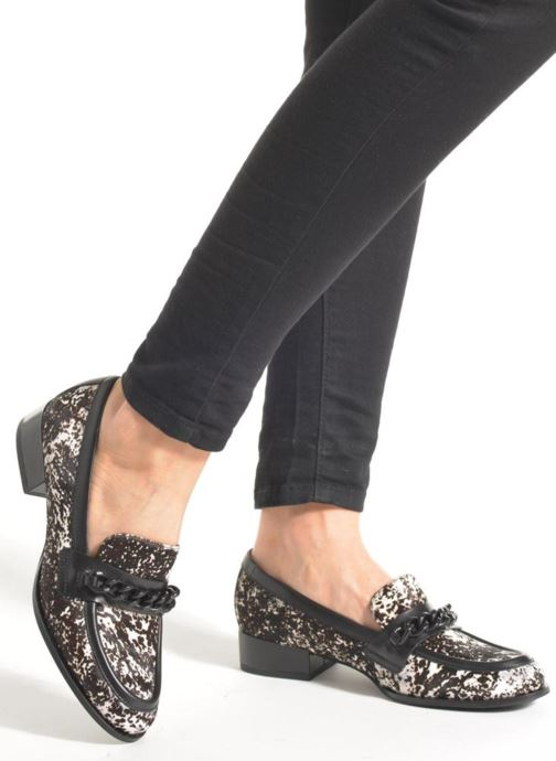 Slipper What For Mayda schwarz ansicht von unten / tasche getragen
