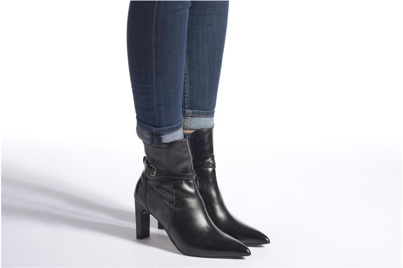 Bottines et boots Elizabeth Stuart Brook 529 Noir vue bas / vue portée sac