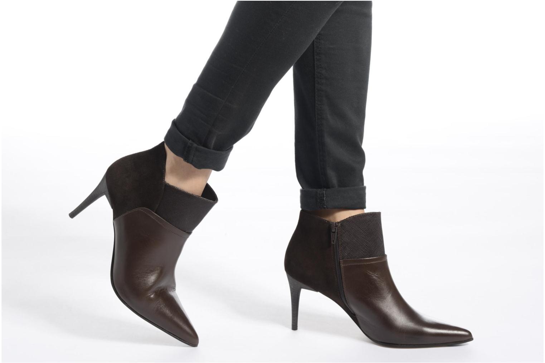 Bottines et boots Elizabeth Stuart Lebrac 536 Marron vue bas / vue portée sac