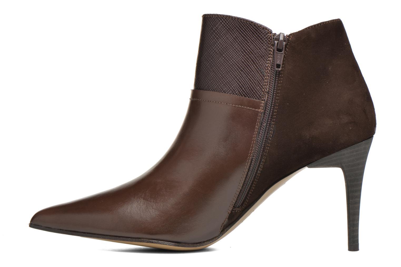 Bottines et boots Elizabeth Stuart Lebrac 536 Marron vue face